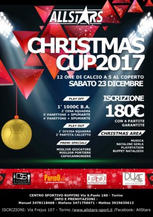 Christmas cup all stars