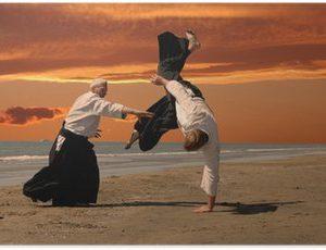 poster-aikido-al-tramonto